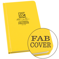RITR All-Weather Universal 370F Waterproof Field Book - Yellow