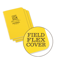 RITR All-Weather Universal 371FX-M Waterproof Mini-Notebook - Yellow
