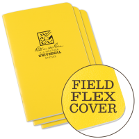RITR All-Weather Universal 371FX Waterproof Notebook - Yellow