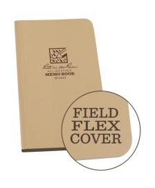 RITR All-Weather Universal 964T Waterproof Memo Book - Tan