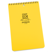 Rite In The Rain 169 Top-Spiral Notebook - Yellow