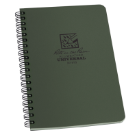 Rite In The Rain 973 Side-Spiral Notebook - Green