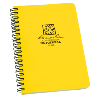 Rite In The Rain All-Weather 373 Side-Spiral Notebook - Yellow
