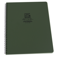 RITR All-Weather Universal 973-MX Waterproof Notebook - Green