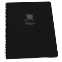 RITR All-Weather Universal 773-MX Waterproof Notebook - Black