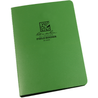 "RITR Field Ring Binder - 1/2"" Capacity - Olive Green"