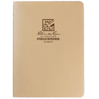 "RITR Field Ring Binder - 1/2"" Capacity - Tan"