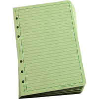 RITR Loose Leaf TAMS Paper - Green