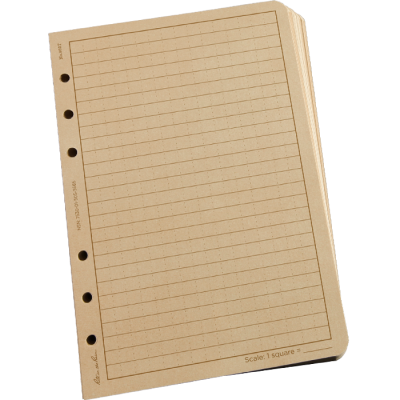 RITR Loose Leaf TAMS Paper - Tan