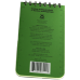 """RITR Tactical Pocket Notebook - 3"""" x 5"""" - Olive"""