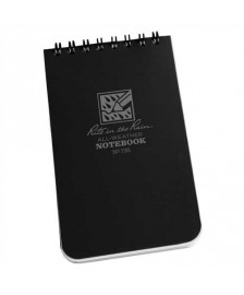 "RITR Tactical Pocket Notebook - 3"" x 5"" - Black"