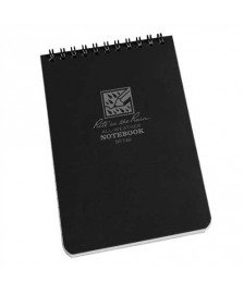 "RITR Tactical Pocket Notebook - 4"" x 6"" - Black"