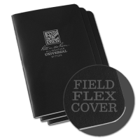 "RITR Stapled Notebook - 4 5/8"" x 7"" - Black"