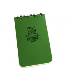 "RITR Tactical Pocket Notebook - 4"" x 6"" - Olive"