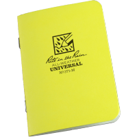 "RITR Universal Mini-Stapled Notebook - 3 1/4"" x 4 5/8"""