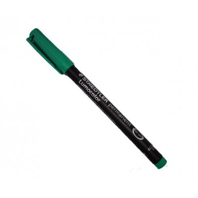 Lumocolor Permanent Marker Pen Green